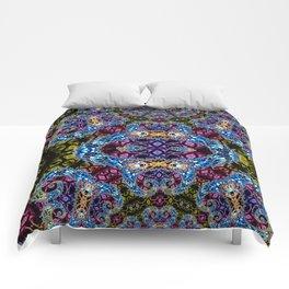 BBQSHOES: Fractal Design 1020C Digital Psychedelic Art Comforters