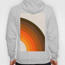 Retro Golden Rainbow - Right Side Hoody