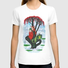 The Rowan tree sign T-shirt