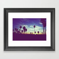 Venice Beach, CA .3 Framed Art Print