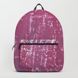 Lilac violet blurred wash drawing Backpack