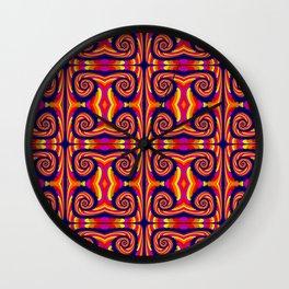 Candy Twist Wall Clock