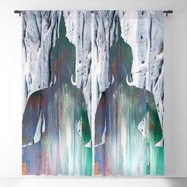 Meditating Buddha by Azima  Blackout Curtain
