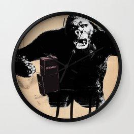 King, Kong, Kapital Wall Clock