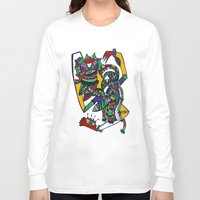 body Long Sleeve T-shirts featuring Body by Da-In