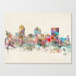wichita kansas skyline Canvas Print