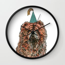 Chow Party Wall Clock