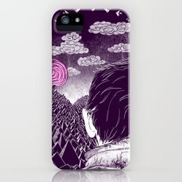 Hardships of life iPhone Case