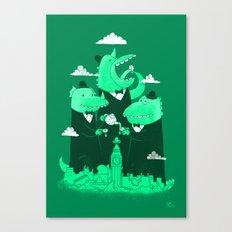 It's Five O-Clock Canvas Print