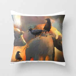 Pigs Don't Fly Throw Pillow