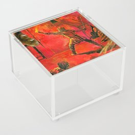 The Interloper handcut collage Acrylic Box