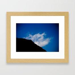 On The Top Framed Art Print