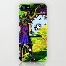 Starry Wonderland iPhone Case