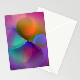 crossing colors -a- Stationery Cards