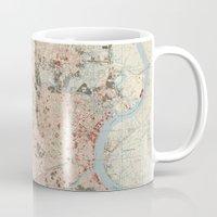 hemingway Mugs featuring Ernest Hemingway by steam