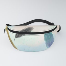 Feathers Fanny Pack