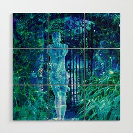 Blue Spirit Wood Wall Art