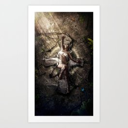 Last breath of Nedolya Art Print