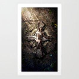 Last breath of Nedolya Art Print