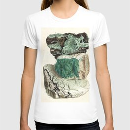 Vintage Mineralogy Illustration T-shirt