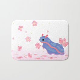 Cherry blossom slug Bath Mat