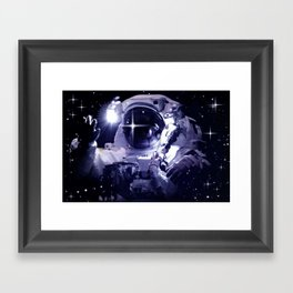 ASTRONAUT. Framed Art Print