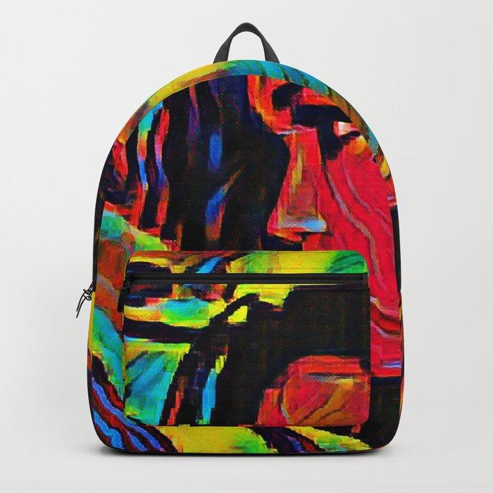 Spiral Eyes Backpack