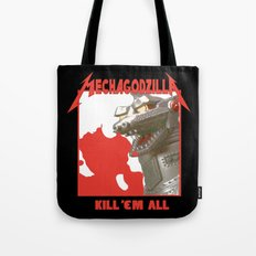 MechaZilla Tote Bag