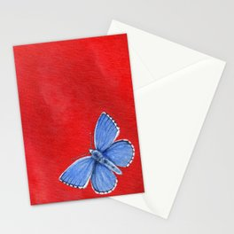 Adonis Blue Butterfly Stationery Cards
