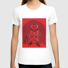 Smokebreak on Mars T-shirt