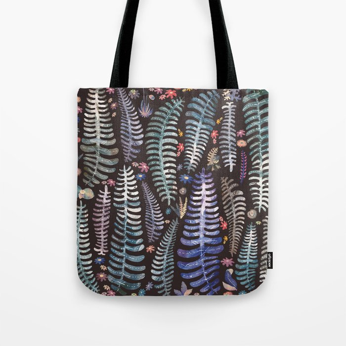 wild nature flowers Tote Bag