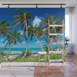Tropical Landscape Wall Mural