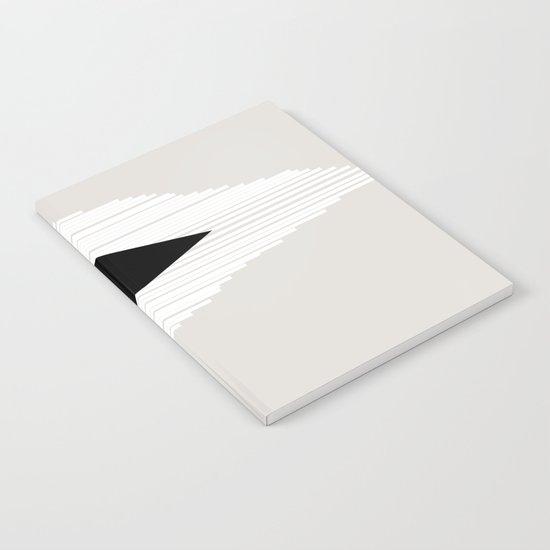 Abstract Mountain Notebook