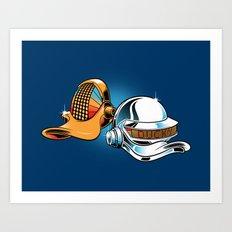 Daft Duck Art Print