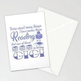 Reading Gigi Stationery Cards