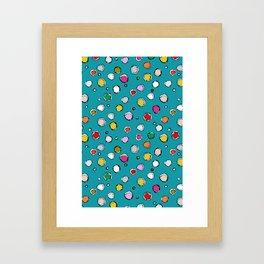 wilderdot blue Framed Art Print