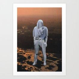 """THE BIG REVEAL"" Art Print"