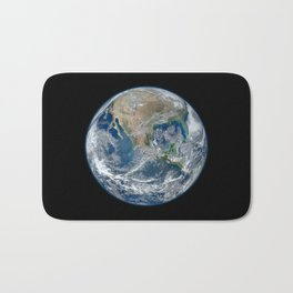 Planet Earth from Above Bath Mat