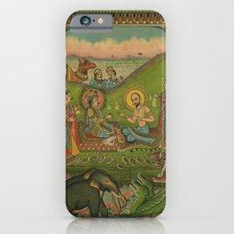 Vintage Indian Label iPhone Case