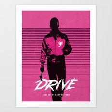 Drive art movie inspired Art Print