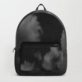 Cloudy black Backpack