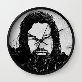 DiCaprio The revenant Wall Clock