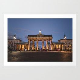 Brandenburger Tor, Berlin Art Print