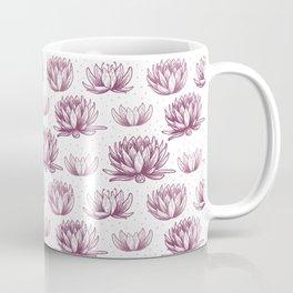 Handdrawn lotus pattern design Coffee Mug