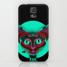 Black CAT- Black iPhone Case