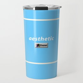 aesthetic done Travel Mug