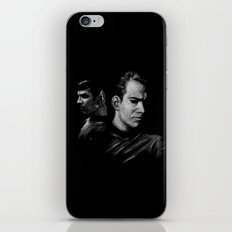 Kirk & Spock iPhone & iPod Skin