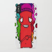 fault iPhone & iPod Cases featuring Fault by YahYahBoozy