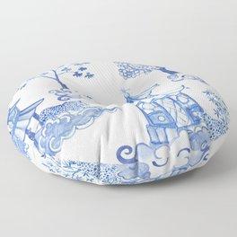 Pagoda Leopards Floor Pillow