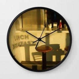 lunch breakfast Wall Clock